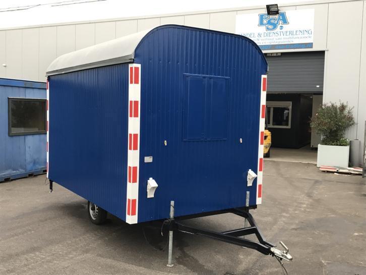Schaftwagen blauw  € 2.100,- ex