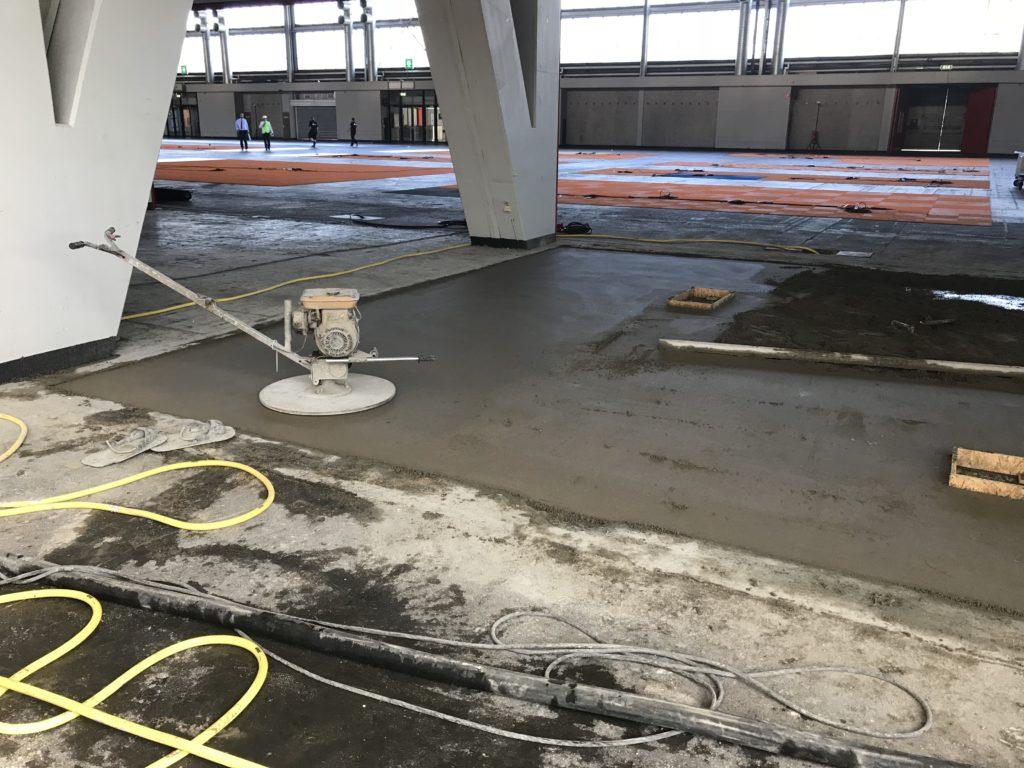 Aanbrengen van een Zand en Cement Vloer