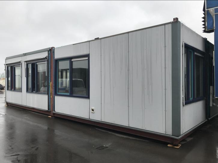 Frames voor Woonunit / kantoorunit 12×6 = 72m2 € 9.000,- ex