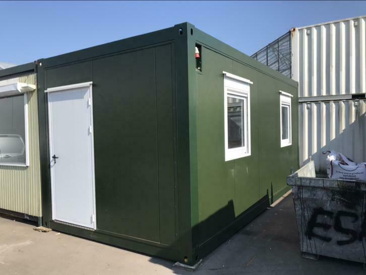 6x3m unit kantoor/woon/schuur/directie unit