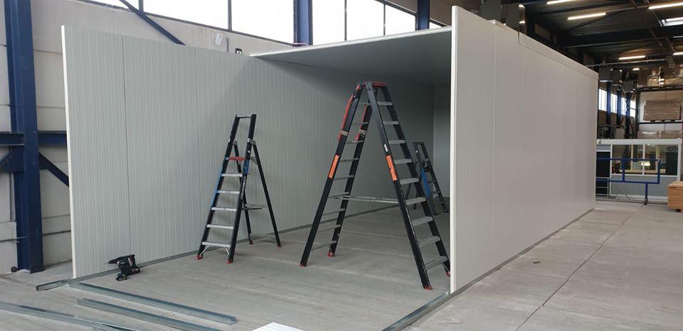 Unit bouwen op locatie 04