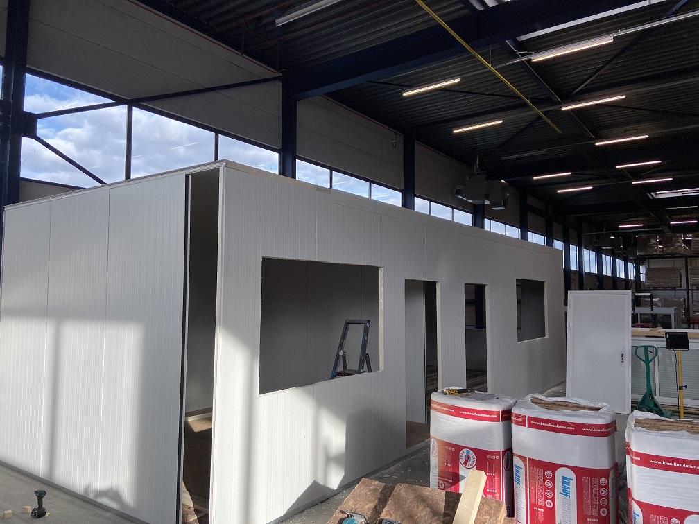 Unit bouwen op locatie 05