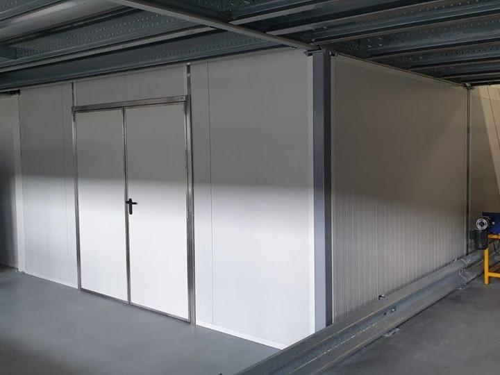 Bouw inpandige ruimte voor GLS Netherlands