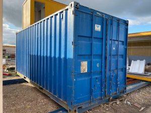 Gebruikte 20ft container 1