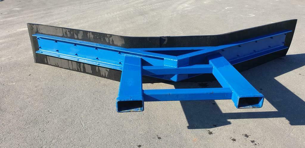 Groot schuifbord met lepelgaten voor oa shovel/heftruck