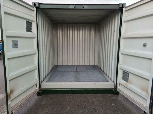 10ft container met lekbak